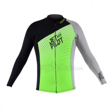 JETPILOT MATRIX-PRO JACKET GREEN/BLACK - JP19141
