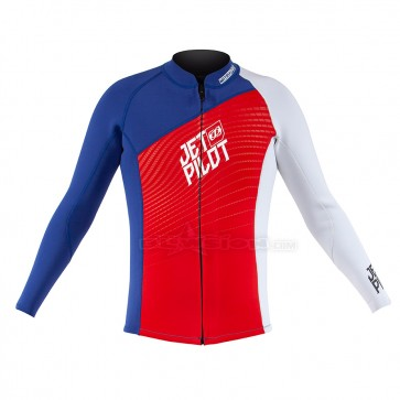 JETPILOT MATRIX-PRO JACKET RED/BLUE - JP19141