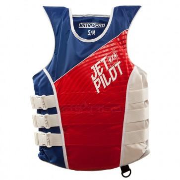 JETPILOT MATRIX-PRO VEST RED/BLUE - JP19213