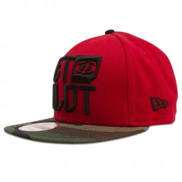 JETPILOT TEAM TRUCKER NEW ERA HAT - S16805