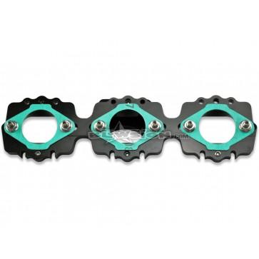 KI Side Draft Intake Manifold - Kawasaki Triple