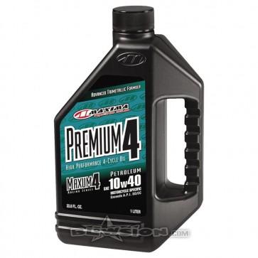 Maxima Premium4 4-Stroke Engine Oil 10W40 - 1 Liter