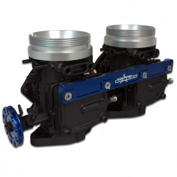 Mikuni 44MM Dual Carburetor Kit - Blue