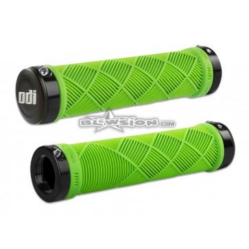 ODI Cross Trainer Lock-On Grips Green (130mm) - PN# 03-05-371