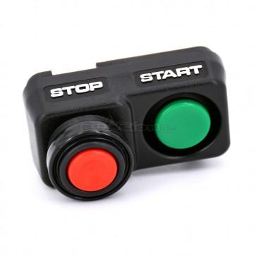 OEM Kawasaki Start / Stop Switch Buttons - 32099-3818