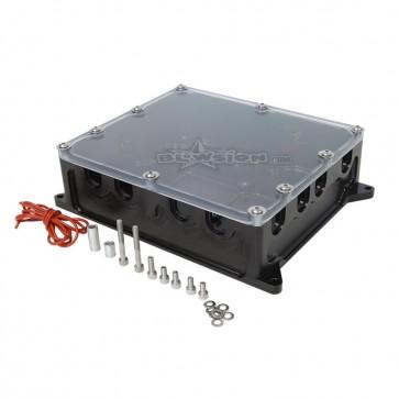 RRP BILLET ELECTRICAL BOX BLACK
