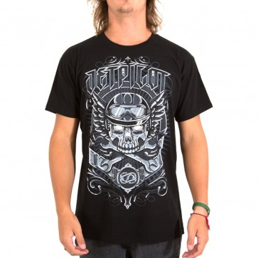 JETPILOT RIDE FOREVER MENS TEE BLACK/CHARCOAL - S16623