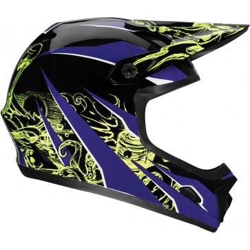 Bell Transfer-9 Helmet - Purple/Yellow