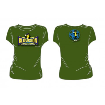 Blowsion Salty Nuts T-Shirt - Womens