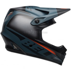 Bell Full-9 Fusion Helmet - Matte Black / Slate / Orange