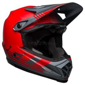 Bell Full-9 Fusion Helmet - Matte Grey / Red