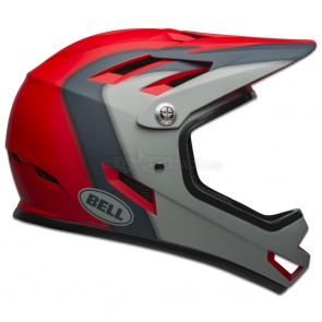 BELL SANCTION HELMET PRESENCES MATTE CRIMSON/SLATE/GREY