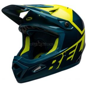 Bell Transfer Helmet - Gloss Blue / Hi-Viz