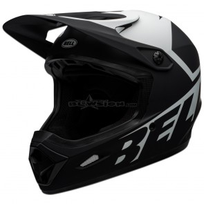 Bell Transfer Helmet - Matte Black / White