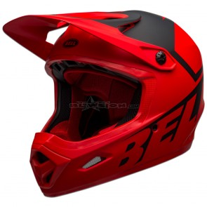 Bell Transfer Helmet - Matte Red / Black