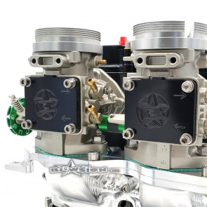 Billet Carburetor Block Off