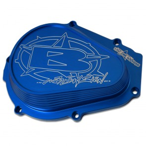 Blowsion Billet Flywheel Cover - Anodized Blue