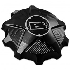 Blowsion Billet Fuel Cap - Yamaha - Anodized Black