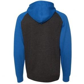 Blowsion Hooded Sweatshirt - Charcoal / Royal
