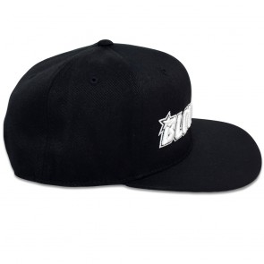 Blowsion FlexFit Snapback Hat - Black/White