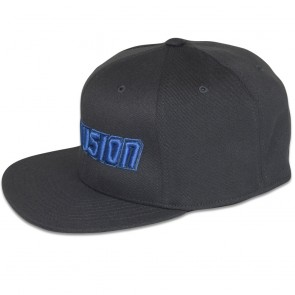 Blowsion FlexFit Snapback Hat - Dark Grey/Blue