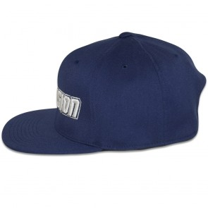 Blowsion FlexFit Snapback Hat - Navy/White