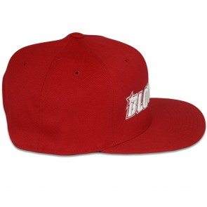 Blowsion FlexFit Snapback Hat - Red/White