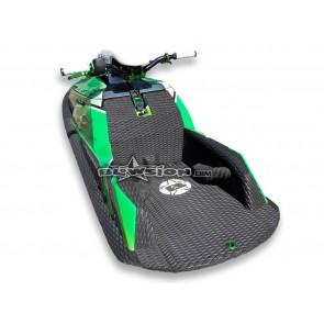 Mat Kit - Hydro Turf - Rickter XFS - Black Diamond Molded - White Logo