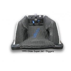 1995-Older Yamaha Superjet with Diggers - Color: Black Diamond Molded