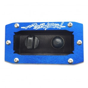 Recessed Dash Mount - Blue (Bilge Switch/Primer Bulb Sold Separately)