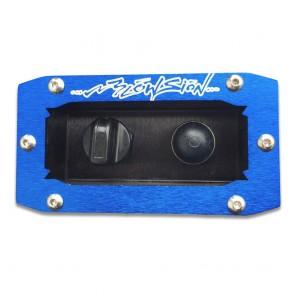 Recessed Dash Mount - Blue (Bilge Switch/Primer Bulb Sold Separately)