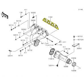 Exhaust Manifold Gasket - Kawasaki SXR 1500