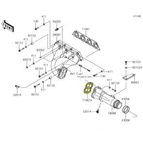 Exhaust Pipe Gasket - Kawasaki SXR 1500