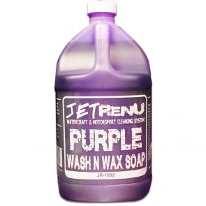 JET RENU - PURPLE WASH & WAX SOAP GALLON - JR-1002