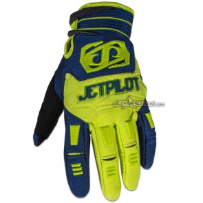 JETPILOT MATRIX GLOVE NAVY/LIME JA6300
