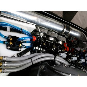 KI Exhaust Routing Kit - Carb Side