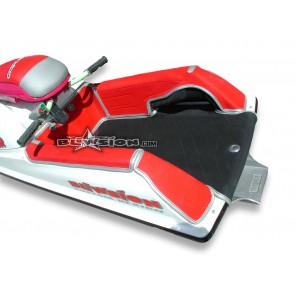Mat Kit - Stitched - Kawasaki 750 - Digger Footwells