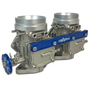 Mikuni 46MM Dual Carburetor Kit - Blue