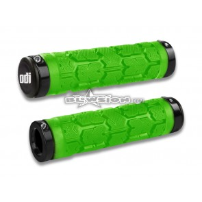 ODI Grip Set - Rogue 130mm - Lime Green - PN# 03-05-319