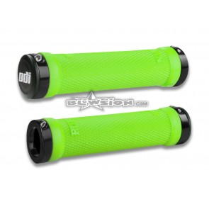 ODI Grip Set - Ruffian 130mm - Green - PN# 03-05-311