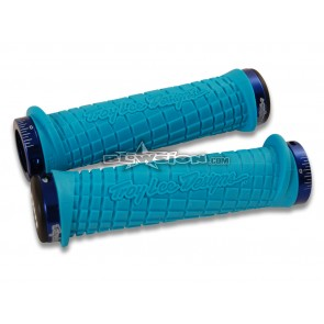 ODI TLD Grip Set - Aqua/Blue - PN# 03-05-329