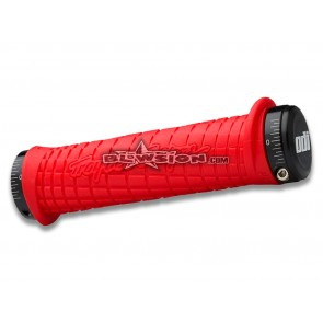 ODI TLD Grips Red (130mm)