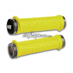 ODI TLD Grip Set  - Yellow/Grey - PN# 03-05-323