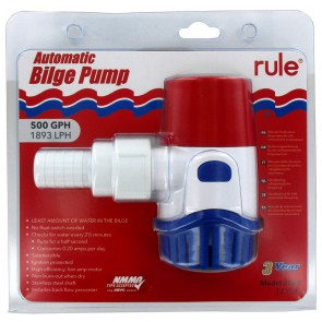 Bilge Pump - Rule - 500GPH Automatic