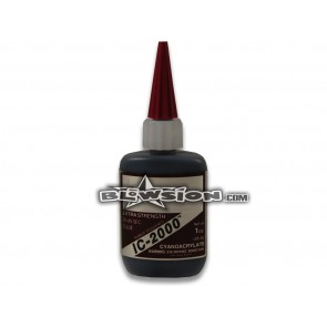 Super Glue - Rubber Toughened 1oz - Black