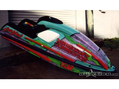 Blowsion Pro Womens Ski Racer Melinda Mclaughlin 750 ski - circa 1994