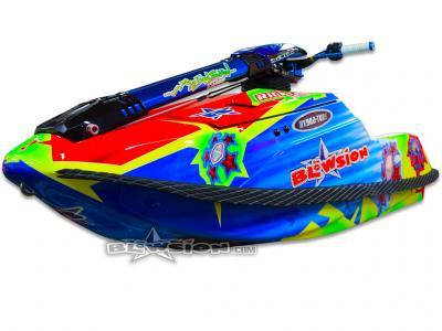 Blowsion Rickter EVO Technicolor Custom Paint