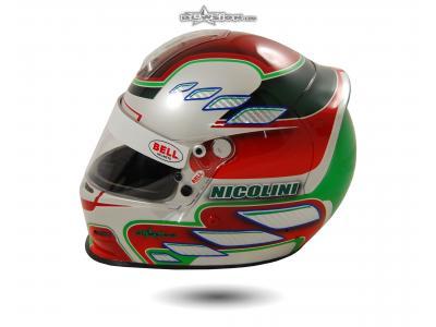Blowsion Custom Paint - BELL GP2 Racing Helmet