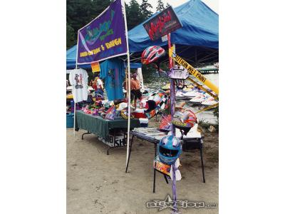 Blowsion Display - NW ski racing Lake Tapps 1991