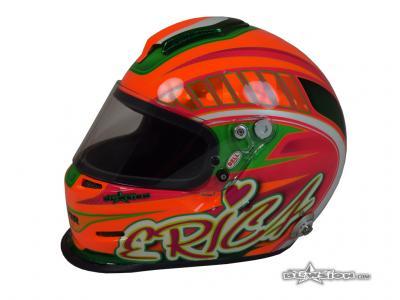 Blowsion Custom Paint - BELL Racing Helmet